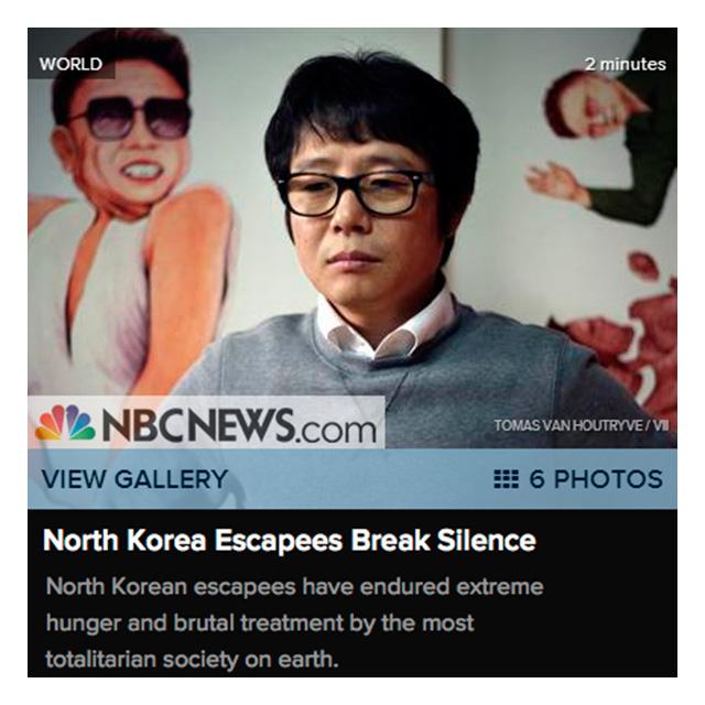 North Korea Latest News: Publication: NBC News, North Korea Escapees Break Silence